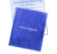 mothers jewelry small polishing cloth