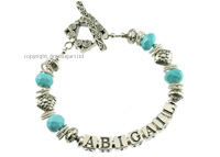 mothers bracelets | abigail in turquoise