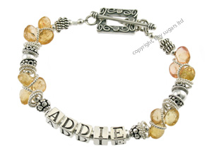 mothers bracelets | addie in topaz f3
