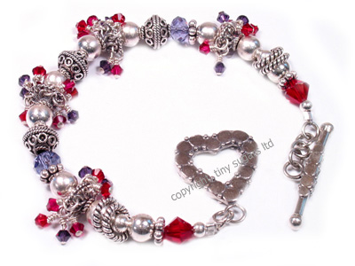 valentines bracelets | be mine