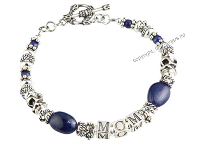 cookie mothers bracelet in sapphires
