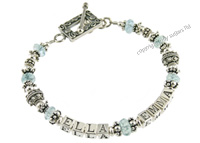mothers bracelets | ella in aquamarine f2