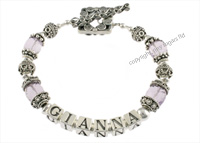 mothers bracelets | gianna in amethyst f2