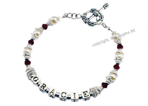 mother's bracelets | gracie garnet f3