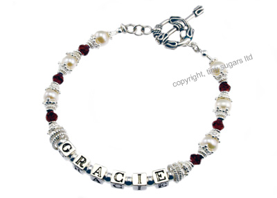 mother's bracelets | gracie garnet f4