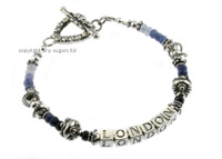mother's bracelets | london shaded sapphires