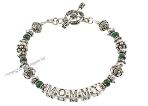 mothers bracelets | mommy emerald f3