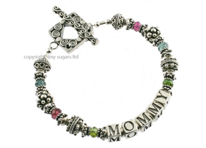 mother's bracelets | mommy in tourmaline f3