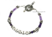 mother's bracelets | paris shaded amethyst