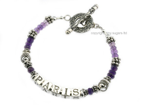 mother's bracelets | paris in amethyst f3