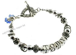 mother's bracelets | toby in sterling silver f3