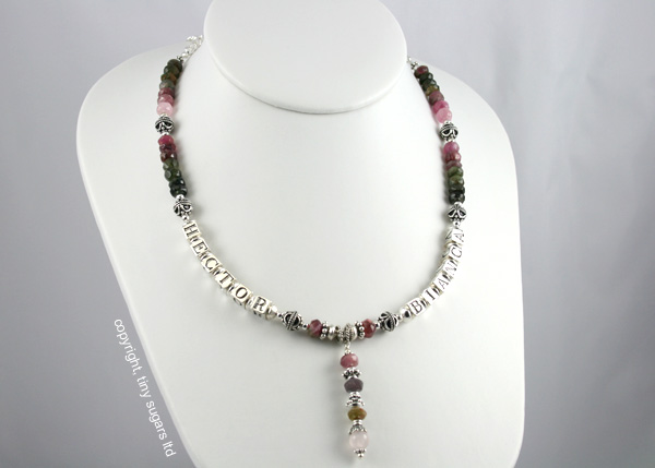 mother's necklaces | hector in tourmaline